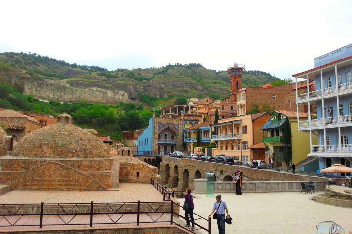 Фотография Район Серных Бань - Обзорная Автобусная Экскурсия Тбилиси - Мцхета - Джвари с туристической компанией Hop On Hop Off Tbilisi