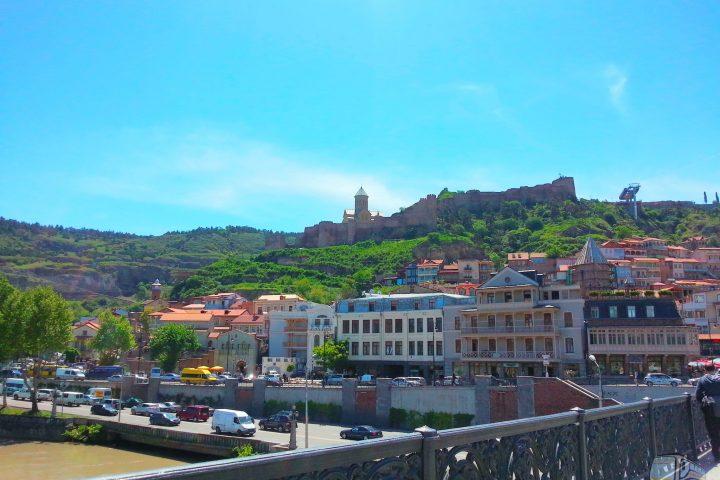 Фотография Вид на Старый Город и Крепость Нарикала - Обзорная Автобусная Экскурсия Тбилиси - Мцхета - Джвари с туристической компанией Hop On Hop Off Tbilisi