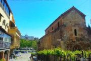 Фотография Базилика Анчисхати и Дворец Президента - Обзорная Автобусная Экскурсия Тбилиси - Мцхета - Джвари с туристической компанией Hop On Hop Off Tbilisi