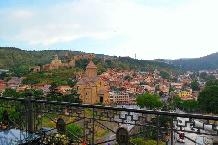Фотография Вид Старого Города - Обзорная Автобусная Экскурсия Тбилиси - Мцхета - Джвари с туристической компанией Hop On Hop Off Tbilisi