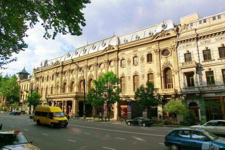 Фотография Театр Руставели - Обзорная Автобусная Экскурсия Тбилиси - Мцхета - Джвари с туристической компанией Hop On Hop Off Tbilisi
