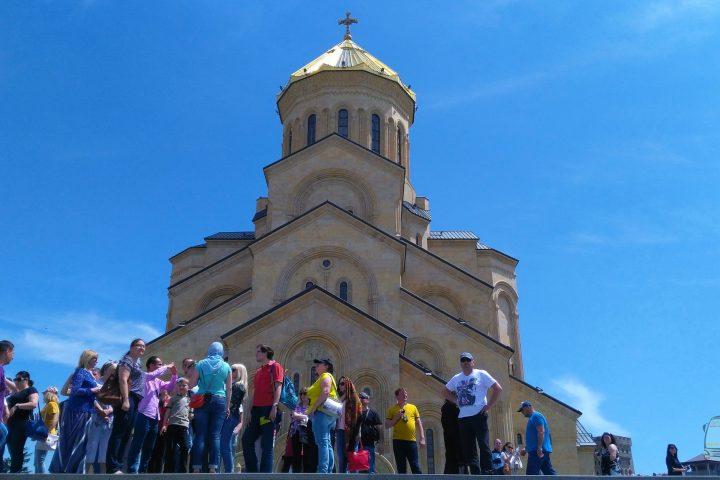 Фотография Самый большой Храм Грузии - Обзорная Автобусная Экскурсия Тбилиси - Мцхета - Джвари с туристической компанией Hop On Hop Off Tbilisi