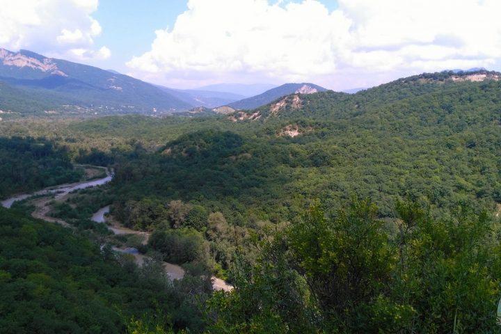 Фотография Виды Зелёных Гор во время Тура из Тбилиси в Кахетию Бодбе Сигнахи Цинандали Телави с компанией Hop on Hop off Tbilisi
