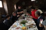 Фотография Обед Грузинском Доме во время Тура из Тбилиси в Кахетию Бодбе Сигнахи Цинандали Телави с компанией Hop on Hop off Tbilisi