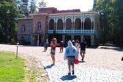 Фотография Цинандали Дом-Музей Чавчавадзе во время Тура из Тбилиси в Кахетию Бодбе Сигнахи Цинандали Телави с компанией Hop on Hop off Tbilisi