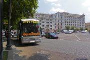 Фотография Автобус Hop On Hop Off на Остановке Площадь Свободы - Обзорная Автобусная Экскурсия Тбилиси - Мцхета - Джвари