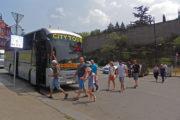 Фотография Автобус Hop On Hop Off возле Метехи - Обзорная Автобусная Экскурсия Тбилиси - Мцхета - Джвари