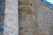Фотография Барельефы Церкви Успения в Ананури во время Экскурсии в Казбеги по Военно-Грузинской дороге Ананури - Гудаури - Казбеги с компанией Hop on Hop off Tbilisi