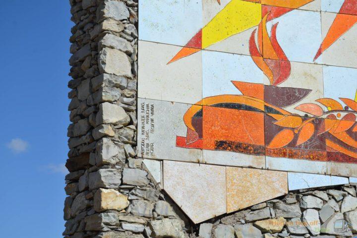 Фотография Монумент Дружбы народов Грузии и России во время Экскурсии в Казбеги по Военно-Грузинской дороге Ананури - Гудаури - Казбеги с компанией Hop on Hop off Tbilisi