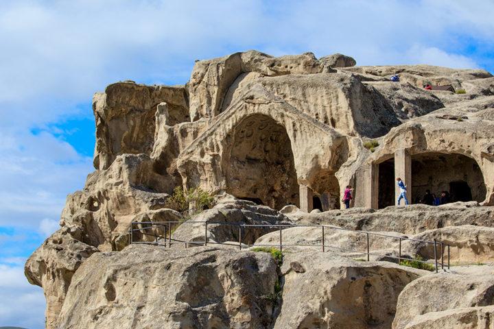 Фотография Пещерный Храм Уплисцихе во время Тура из Тбилиси Гори - Атени Сиони - Уплисцихе с компанией Hop on Hop off Tbilisi